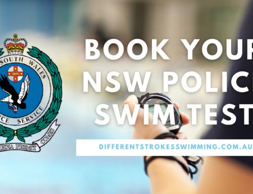 NSW Police Swim Test